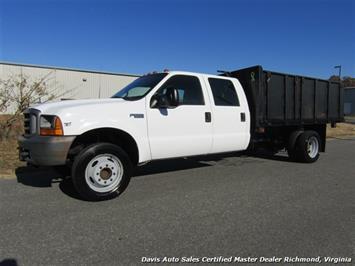 1999 Ford F-550 Super Duty XL 7.3 Power Stroke Turbo Diesel Crew Cab Dump Bed Truck