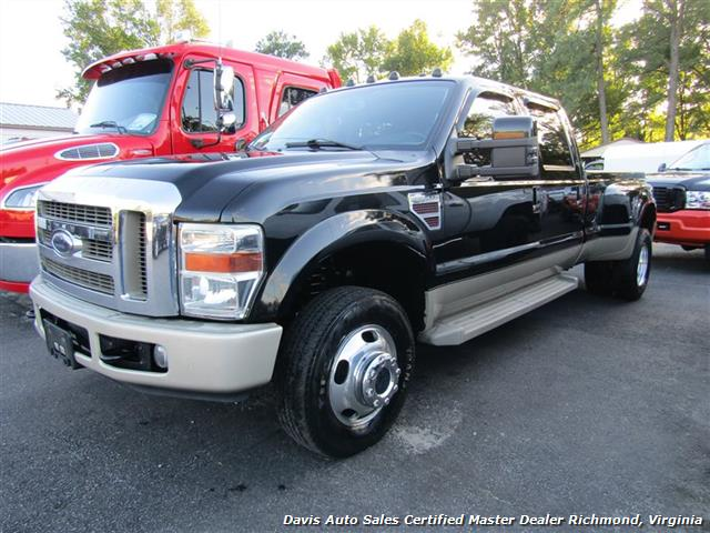 2008 ford f 350 super duty king ranch 4x4 dually crew cab long bed. Black Bedroom Furniture Sets. Home Design Ideas