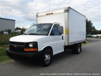 2012 Chevrolet Express Cutaway G 3500 Commercial Cargo 12 Foot Cube Box Van Lift Gate Van