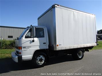 1995 Isuzu NPR 4000 Series Diesel Turbo Electromatic Intercooler Utility Work Van Truck