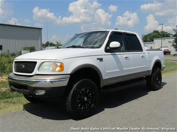 2002 Ford F-150 Lariat Lifted 4X4 SuperCrew Short Bed Truck