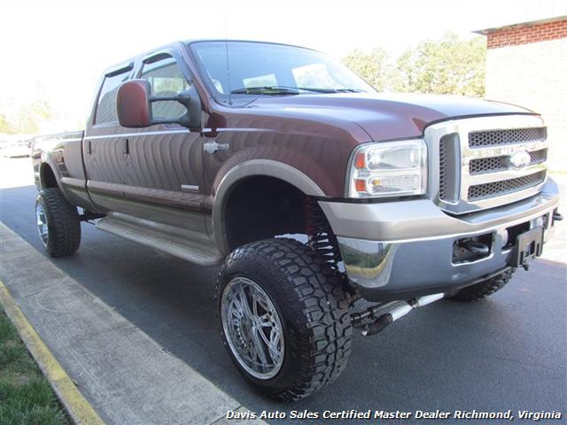 2006 ford f 350 super duty king ranch fx4 4x4 crew cab. Black Bedroom Furniture Sets. Home Design Ideas