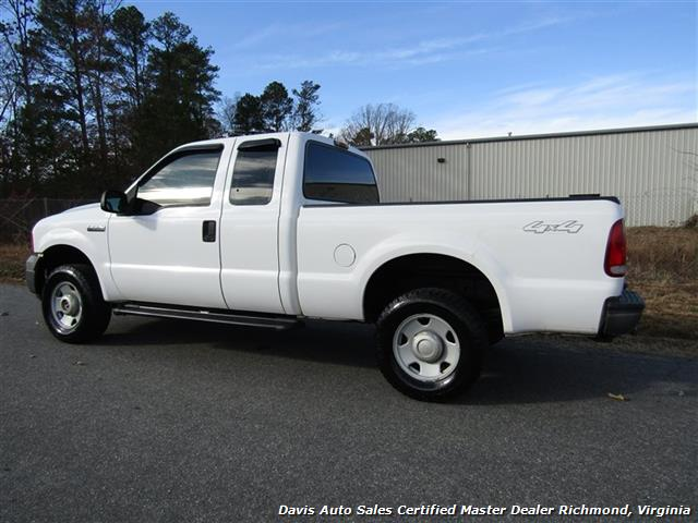 2005 ford f 250 super duty xl 4x4 supercab short bed work. Black Bedroom Furniture Sets. Home Design Ideas