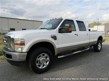 2010 Ford F-350 Super Duty Lariat Diesel Crew Cab Long Bed Truck