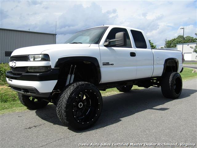 2002 chevrolet silverado 2500 hd lt twin turbo duramax 6 6 diesel lifted 4x4 solid axle. Black Bedroom Furniture Sets. Home Design Ideas