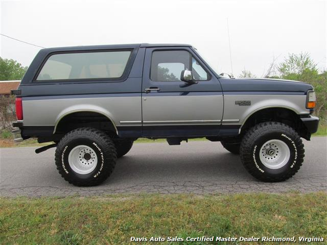 1994 Ford Bronco Xlt Lifted 4x4