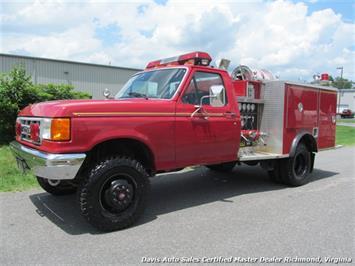 1991 Ford F-350 7.3 Pierce Brush 4X4 DRW Regular Cab Fire Truck