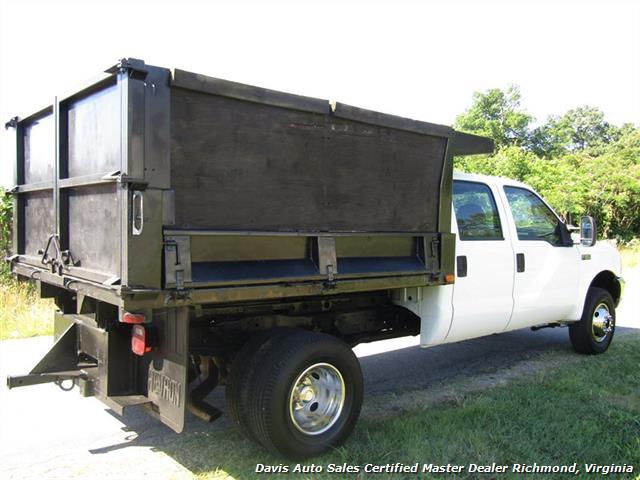 2001 Ford F-350 Super Duty XL 7.3 Diesel 4X4 Crew Cab Dump Bed - Photo 5 - Richmond, VA 23237