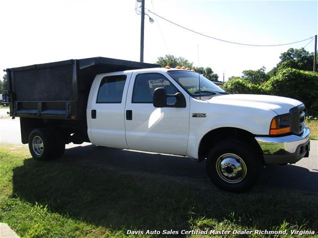 2001 Ford F-350 Super Duty XL 7.3 Diesel 4X4 Crew Cab Dump Bed - Photo 12 - Richmond, VA 23237