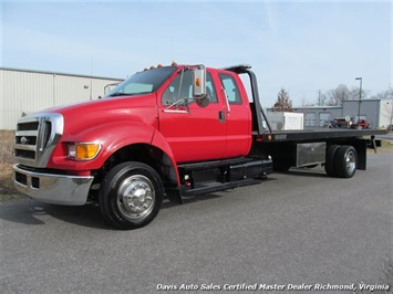 2005 Ford F-650 Super Duty XLT Rollback/Wrecker Tow Truck Extended Cab 21 Foot Truck