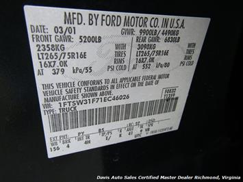 2001 Ford F-350 Super Duty Lariat 7.3 Diesel Lifted 4X4 Crew Cab - Photo 31 - Richmond, VA 23237