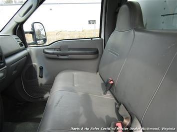 2004 Ford F-550 Super Duty XL Power Stroke Turbo Diesel Regular Cab Refrigerated Box - Photo 19 - Richmond, VA 23237
