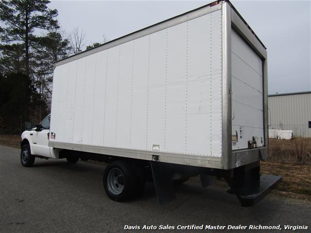 2004 Ford F-550 Super Duty XL Power Stroke Turbo Diesel Regular Cab Refrigerated Box - Photo 4 - Richmond, VA 23237