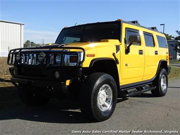 2003 Hummer H2 Lux Series 4X4 Yellow SUV