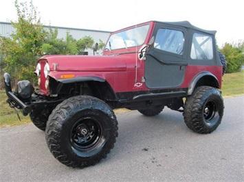 1986 Jeep CJ-7 SUV