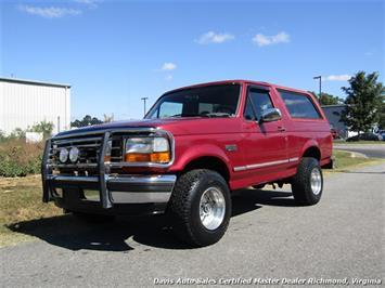 1995 Ford Bronco XLT 4X4 2 Door SUV
