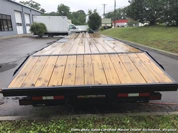 2016 Down To Earth 38 Foot Flat Deck Car Hauling Equipment Trailer - Photo 4 - Richmond, VA 23237