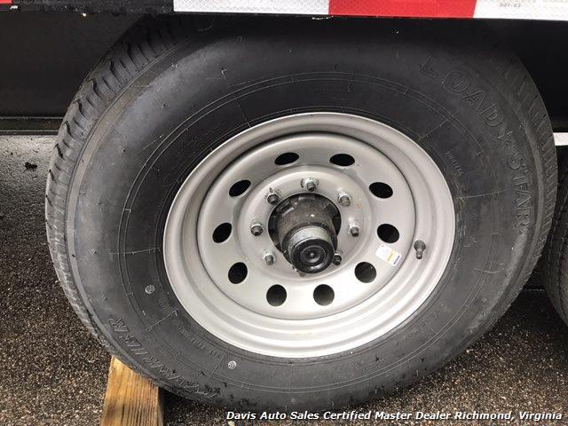 2016 Down To Earth 38 Foot Flat Deck Car Hauling Equipment Trailer - Photo 10 - Richmond, VA 23237