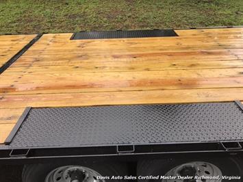 2016 Down To Earth 38 Foot Flat Deck Car Hauling Equipment Trailer - Photo 5 - Richmond, VA 23237