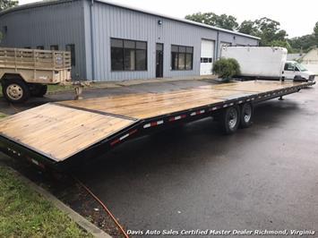 2016 Down To Earth 38 Foot Flat Deck Car Hauling Equipment Trailer - Photo 11 - Richmond, VA 23237