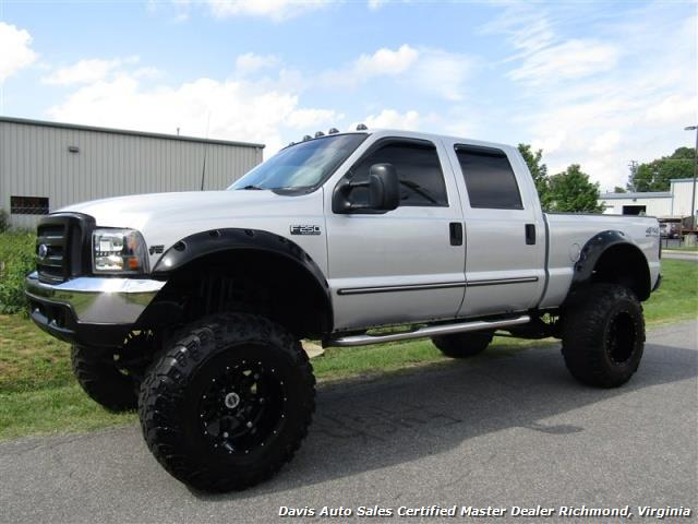2000 ford f 250 super duty lifted xlt 4x4 crew cab short bed. Black Bedroom Furniture Sets. Home Design Ideas