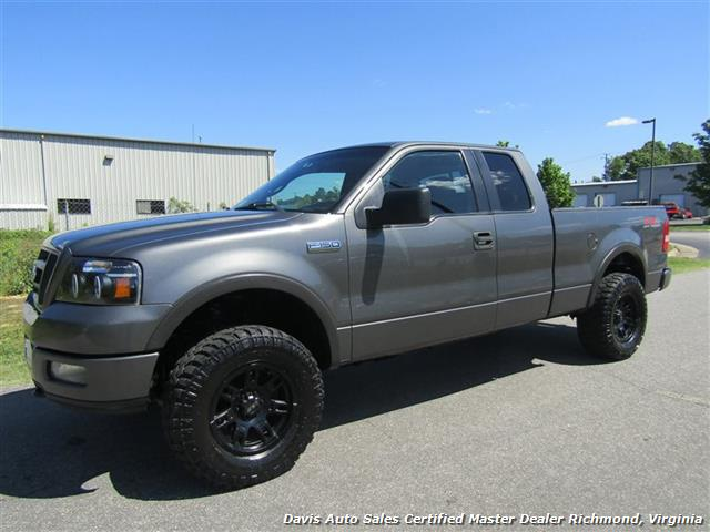 2005 ford f 150 fx4 off road lifted 4x4 supercab short bed. Black Bedroom Furniture Sets. Home Design Ideas