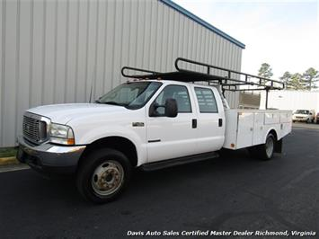 2002 Ford F-450 Super Duty XL 7.3 Diesel Crew Cab 12 Foot Utility Bin Body - Photo 22 - Richmond, VA 23237