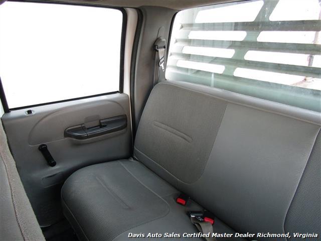 2002 Ford F-450 Super Duty XL 7.3 Diesel Crew Cab 12 Foot Utility Bin Body - Photo 12 - Richmond, VA 23237