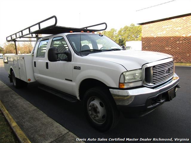 2002 Ford F-450 Super Duty XL 7.3 Diesel Crew Cab 12 Foot Utility Bin Body - Photo 19 - Richmond, VA 23237