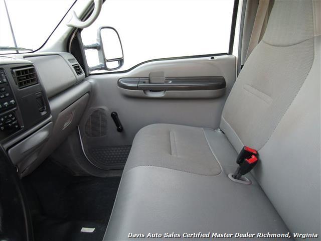 2002 Ford F-450 Super Duty XL 7.3 Diesel Crew Cab 12 Foot Utility Bin Body - Photo 11 - Richmond, VA 23237