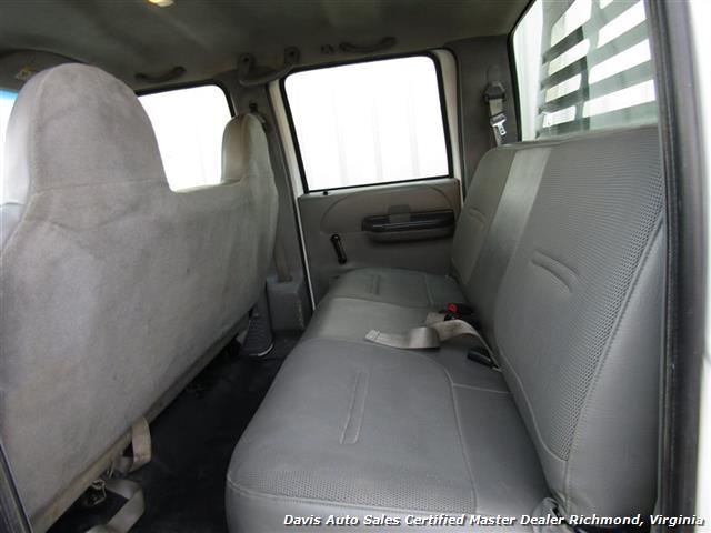 2002 Ford F-450 Super Duty XL 7.3 Diesel Crew Cab 12 Foot Utility Bin Body - Photo 13 - Richmond, VA 23237