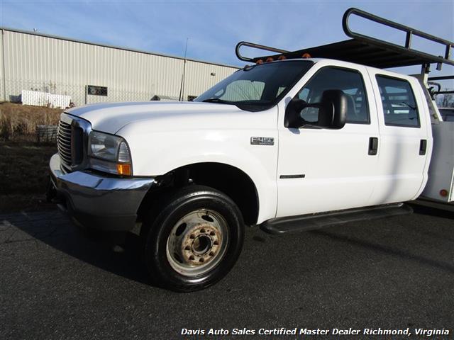 2002 Ford F-450 Super Duty XL 7.3 Diesel Crew Cab 12 Foot Utility Bin Body - Photo 3 - Richmond, VA 23237