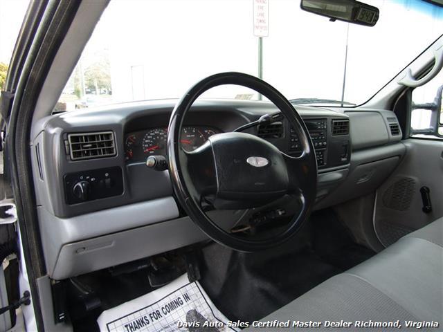 2002 Ford F-450 Super Duty XL 7.3 Diesel Crew Cab 12 Foot Utility Bin Body - Photo 9 - Richmond, VA 23237