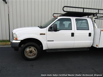 2002 Ford F-450 Super Duty XL 7.3 Diesel Crew Cab 12 Foot Utility Bin Body - Photo 23 - Richmond, VA 23237