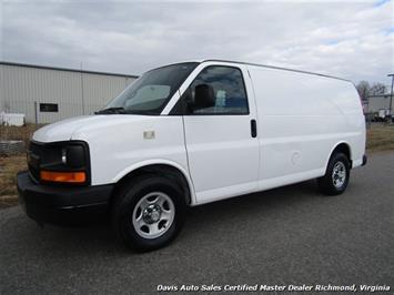 2006 Chevrolet Express 1500 Commercial Cargo Work Van