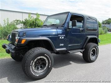 2002 Jeep Wrangler X SUV