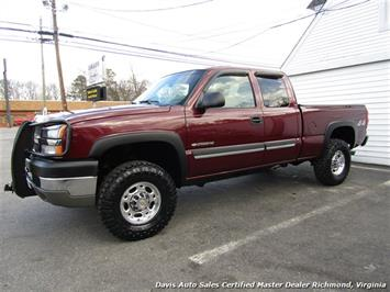 2003 Chevrolet Silverado 2500 HD LS Lifted 4X4 Extended Cab Short Bed Truck