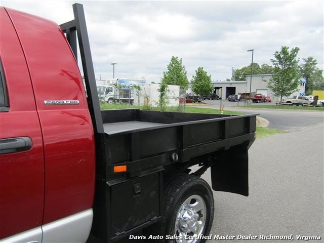 2006 Dodge Ram 3500 SLT 5.9 Cummins Turbo Diesel 4X4 Mega Cab Flat Bed - Photo 23 - Richmond, VA 23237