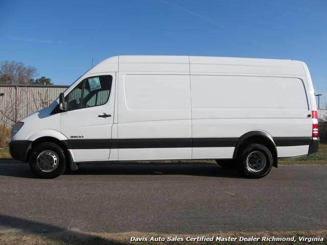 2007 dodge sprinter 3500 170 wb extended high top cargo. Black Bedroom Furniture Sets. Home Design Ideas