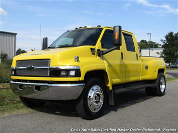 2005 Chevrolet Kodiak Topkick C4500 HD 6.6 Duramax Diesel Dually Crew Cab Hauler Tow Bed Truck