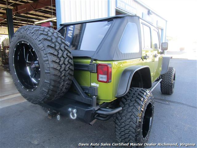 2007 Jeep Wrangler Unlimited X 4x4 Off Road Lifted Custom
