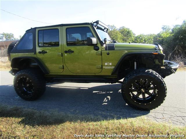 2007 jeep wrangler unlimited x 4x4 off road lifted custom. Black Bedroom Furniture Sets. Home Design Ideas