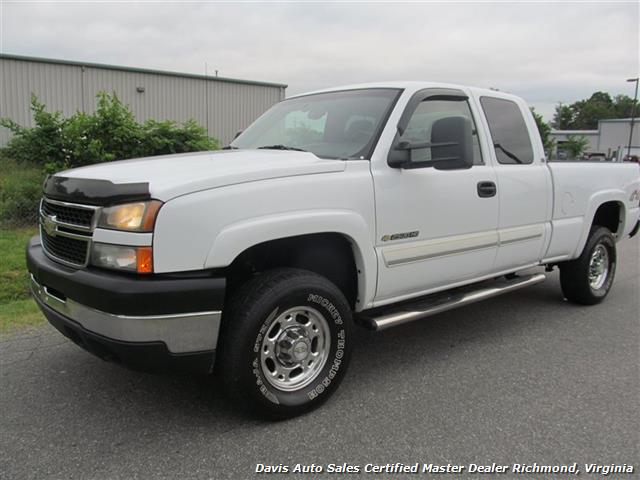 2006 chevrolet silverado 2500 hd ls 4x4 extended cab short bed. Black Bedroom Furniture Sets. Home Design Ideas