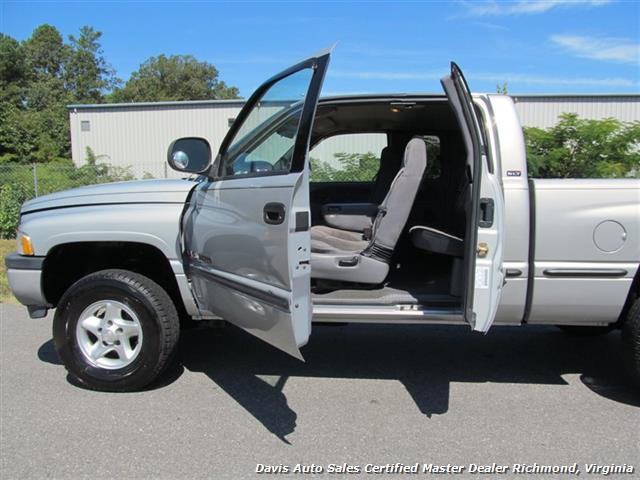 1999 dodge ram 1500 laramie slt 4x4 quad cab short bed. Black Bedroom Furniture Sets. Home Design Ideas