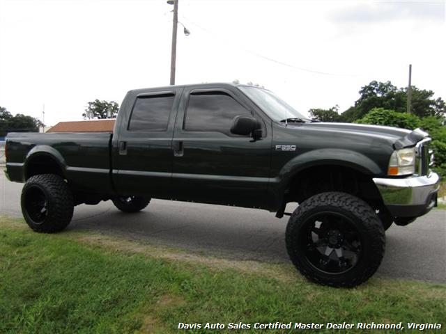 2003 ford f 350 super duty xlt 7 3 diesel lifted 4x4 crew. Black Bedroom Furniture Sets. Home Design Ideas