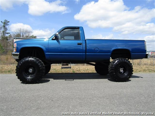 1989 Chevrolet Silverado C K 1500 4X4 Lifted Solid Axle Regular Cab Long Bed - Photo 2 - Richmond, VA 23237