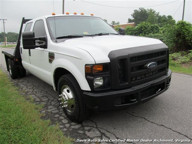 2008 ford f 350 super duty diesel xl crew cab flatbed dually. Black Bedroom Furniture Sets. Home Design Ideas