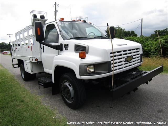 2008 Chevrolet C4500 Kodiak/Topkick Duramax Diesel Regular Cab Flat Bed Utility Work - Photo 11 - Richmond, VA 23237