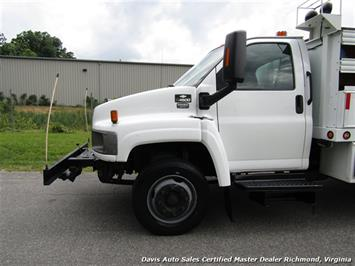 2008 Chevrolet C4500 Kodiak/Topkick Duramax Diesel Regular Cab Flat Bed Utility Work - Photo 2 - Richmond, VA 23237