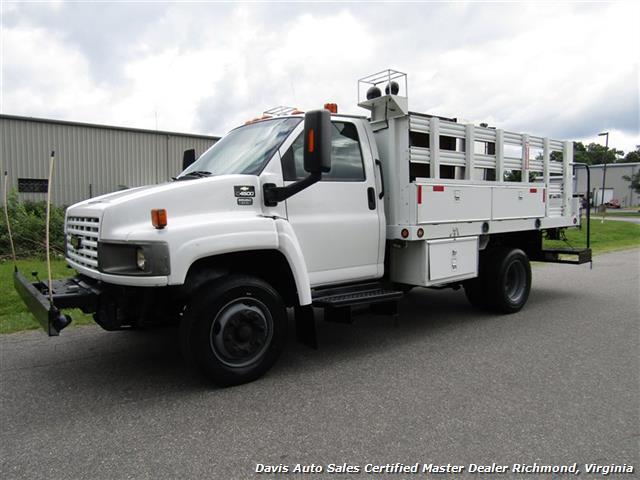 2008 Chevrolet C4500 Kodiak/Topkick Duramax Diesel Regular Cab Flat Bed Utility Work - Photo 1 - Richmond, VA 23237